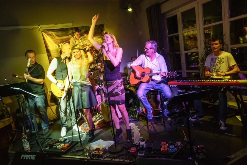 Gone Fishin' live 20.09.2014 im Café Eins
